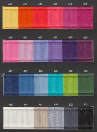 Heirloom Colour Works 8 Ply Yarn Colour Chart Couleur