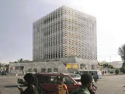 office building facade. Project Entry 2014 Africa Middle East - Weaving Publicness: Socially-integrated Office \u0026hellip; Building Facade