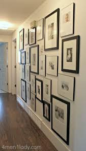 Hallway Wall Ideas Best 25 Hallway Photo Galleries Ideas On Pinterest Photo