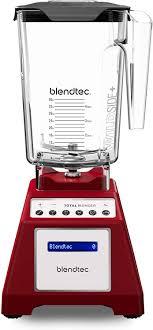 Difference Between Blendtec Total Blender And Designer Series Blendtec Total Classic Original Blender Wildside Jar 90 Oz Professional Grade Power 6 Pre Programmed Cycles 10 Speeds Red