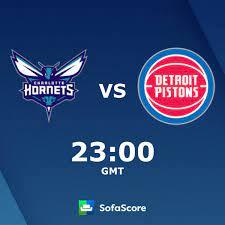 Charlotte Hornets Detroit Pistons Live ...