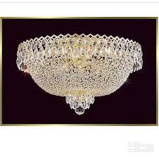 k9 crystal chandelier modern crystal ceiling light flush mount fixture chrome plated living room bedroom ceiling