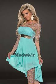 مدل لباس شب لمه