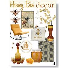 honey bee decor polyvore