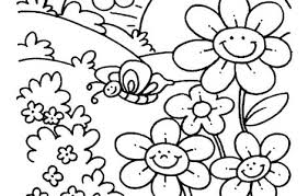 Free Spring Coloring Sheets Download Free Printable Calendar Free