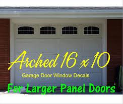 Faux Garage Door Windows Muralmate Single Garage Door Decal Geek Decor High Resolution