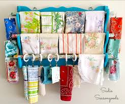 A Gun Rack that Stuns: Scrap Fabric Organizer