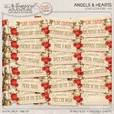 Printable Coupons Love Coupons Gift For Her Gift For Him Diy Valentines Gift Digital Download Printable Tickets Digital Collage Sheet