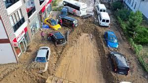 Rize'yi sel vurdu - Son Dakika Haberleri