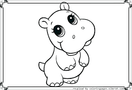 Cutest Animal Coloring Pages Cute Baby To Print Printable For Kids