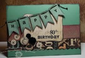 birthday card 80th ideas for men him