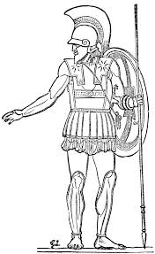 Ancient Rome Colouring Pages Roman Soldiers Drawings Jos Free