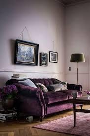 Plum Accessories For Living Room 12 Royally Purple Velvet Sofas For The Living Room