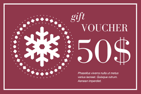 Create Your Own Voucher Template Magnificent 48 Gift Voucher Designs Create Your Own Marketing Materials Online