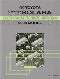 toyota solara service manuals shop owner maintenance and 2008 toyota solara wiring diagram manual original
