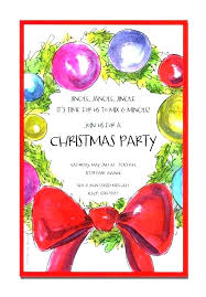 Company Holiday Party Invitation Useful Yet Corporate Throughout