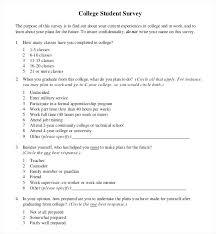 Demographic Questionnaire Template Survey Question Examples