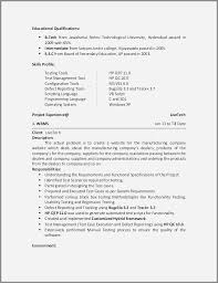 35 Fresh Sample Resume For Software Tester 2 Years Experience