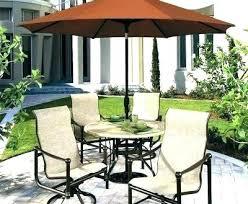 patio umbrella stand side table canada