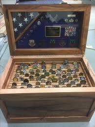 custom made chest storage chest hope chest trunk military coin rack