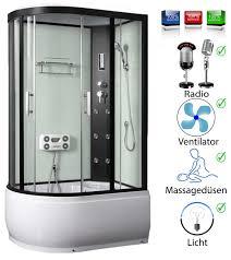 Duschkabine Regendusche Fertigdusche Dusche Duschabtrennung