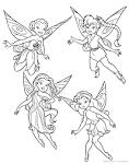 Раскрашивать раскраски феи