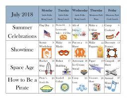Summer Camp Weekly Schedule Little Folks Summer Camp 2019 Little Folks School