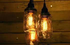 kitchen decoration medium size ball jar lamp mason chandelier light primitive farm country table diy lamps