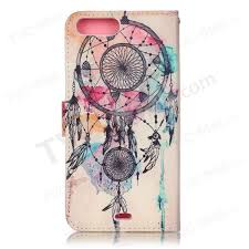 Dream Catcher Case Iphone 7 Plus Patterned Leather Wallet Case for iPhone 100 Plus 100100 inch Dream 9