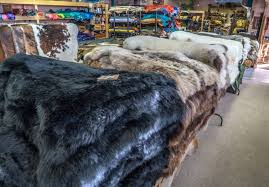 sheepskin rugs shearling saddle stock new
