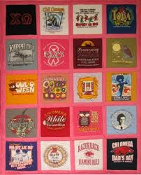 Sosews T-shirt Quilts: Gallery of T-shirt Quilts & sorority shirts Adamdwight.com