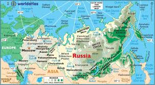 russia map geography of russia map of russia worldatlas com Russia And Europe Map map of russia russia and europe map quiz