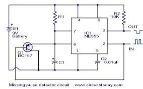 electronic  missing pulse detector circuit using ne555