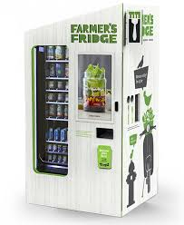 Vending Machine Franchise Singapore Custom Farmer's Fridge Eat Happier