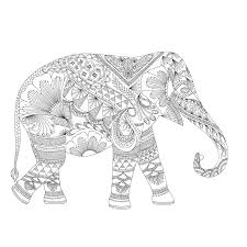 Millie Marottas Animal Kingdom Sampler Coloring Elephant