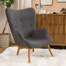 Amazon.com: Acantha Mid Century Modern Retro Contour Chair ...