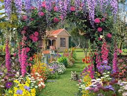 Small Picture Ideas for an Enticing Cottage Garden Design 2016 Living Rooms