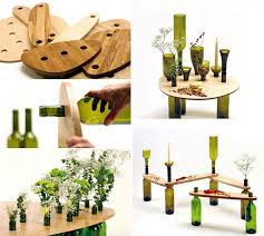 diy wine bottle tables dvinus