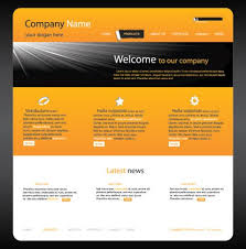 Free Website Templates Html Unique Website Templates Orange Free Orange Web Free Website Templates For