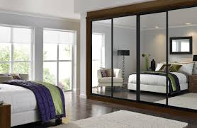 contemporary fitted bedroom furniture. Contemporary Fitted Bedroom Furniture With Mirrors Black Frame Sliding Wardrobe