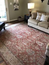 pottery barn 9x12 area rug muted red not true red for in lexington ky offerup