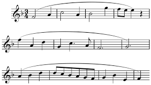 A bar (also called a measure) is one small segment of music that holds a certain number of beats. Why Four Bar Phrases Joseph Sowa