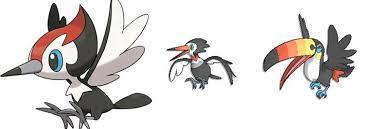 Toucannon Evolution Chart