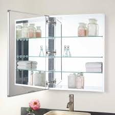 Acwel Recessed Mount Medicine Cabinet - Bathroom