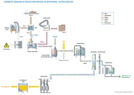 Ethanol Production Process Flow Chart Production Processes Bioethanol Cropenergies Ag