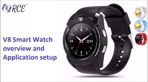 <b>v8 Smart Watch</b> Overview and Application Setup - YouTube