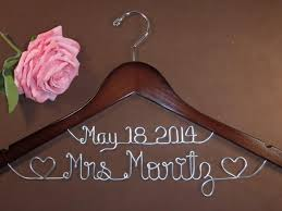 hanger with date hearts for your wedding personalized custom bridal hanger brides hanger bridal hanger wedding hanger bridal