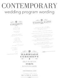 sample wedding program wording how to word your wedding programs invitations by dawn best program