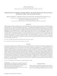 pdf simulation of quinoa chenopodium quinoa willd response to soil salinity using the saltmed model
