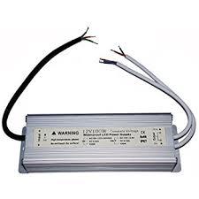 ledwhole rs waterproof led driver watt volt power supply waterproof ip67 led driver transformer 100 watt 12v power supply double output